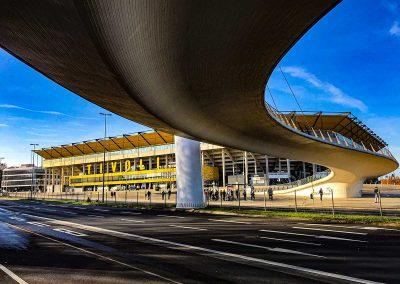 Tivoli Aachen mit CHIO Brücke